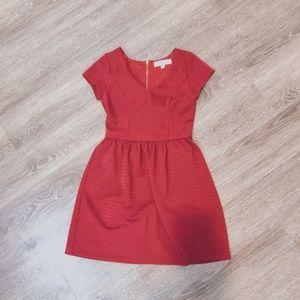 Francesca ~ Red formal dress